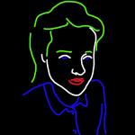 Danny Mooney 'Fay R-R' iPad drawing