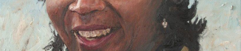 Danny Mooney 'Pauline' Oil on linen 50 x 40 cm