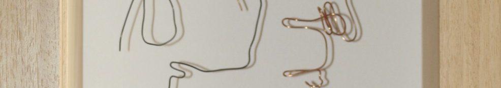 Danny Mooney 'I'm Loving Every Idiosyncrasy' Iron and bronze 41 x 26 x 9 cm Framed