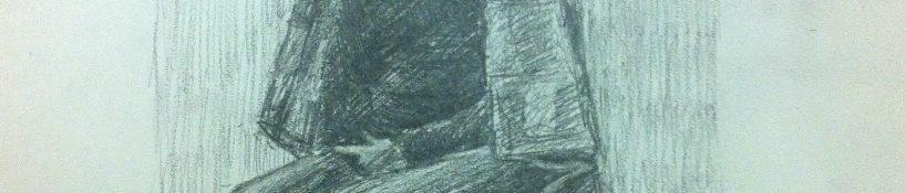 Danny Mooney 'Jerwood Portrait Class Nov 12' Graphite on paper