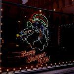 Danny Mooney 'Santa' Neon sculpture