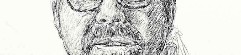 Danny Mooney 'Ian Francis' Digital drawing