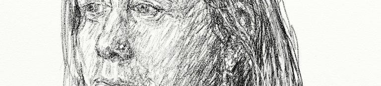 Danny Mooney 'Lotte Risbridger 15.2.13' Digital drawing