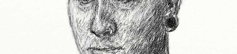 Danny Mooney 'Nathan Western 25.2.13v2' Digital drawing