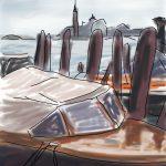 Danny Mooney 'Water taxi' Digital drawing