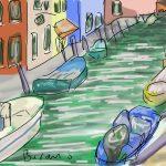 Danny Mooney 'Burano' Digital drawing