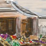 Danny Mooney 'Calle Larga 2' Digital drawing