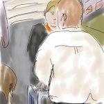 Danny Mooney 'EasyJet flight EZY5264' Digital drawing