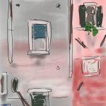 Danny Mooney 'Fondementa della Sensa' Digital drawing