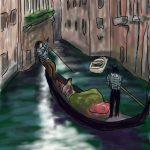 Danny Mooney 'Gondoliers' Digital drawing