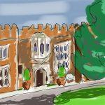 Danny Mooney 'Hastings Museum' Digital drawing