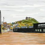 Danny Mooney 'Jerwood and West Hill' Digital drawing