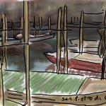 Danny Mooney 'San Pietro di Costello' Digital drawing