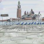 Danny Mooney 'St Giorgio Maggiore' Digital drawing