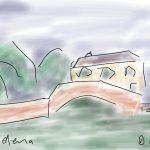 Danny Mooney 'St Helena 1' Digital drawing