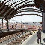 Danny Mooney 'York Station' Digital drawing