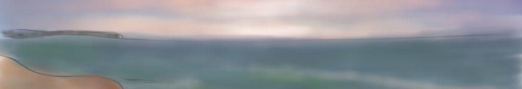 Danny Mooney 'Walking to the studio' Digital painting
