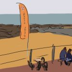 Danny Mooney 'The Beach Café, St Leonards' Digital painting