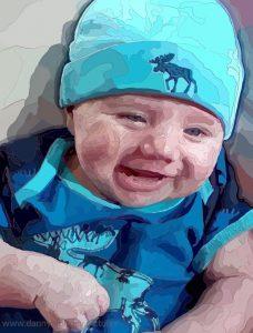 Danny Mooney 'Dylan' iPad painting #APAPD