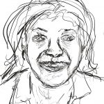 Danny Mooney 'Pauline, 22/6/16' iPad painting #APAD