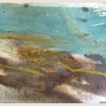 Danny Mooney 'Wind, 3, April 17' Mixed media on paper 14.8 x 21 cm
