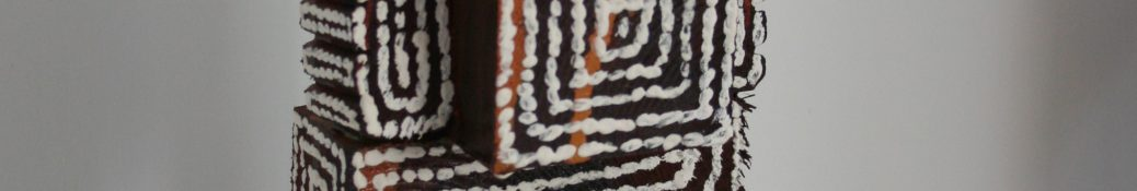 Danny Money 'Chirpy Chirpy Cheep Cheep' Oil on wood 41 x 13.5 x 11.5 cm