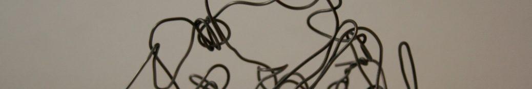 Danny Mooney 'Jacob' Iron wire 9.5 x 11.5 x 6 cm