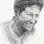 Danny Mooney 'Nicky 8.2.13' Digital drawing