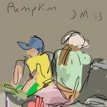 Danny Mooney 'Pumpkin' Digital painting