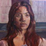 Danny Mooney 'Belen' Oil on canvas, 50 x 40 cm