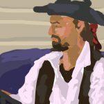 Danny Mooney 'Steve' Digital painting