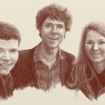 Danny Mooney 'Biff, Xavi and Izzy' Digital drawing