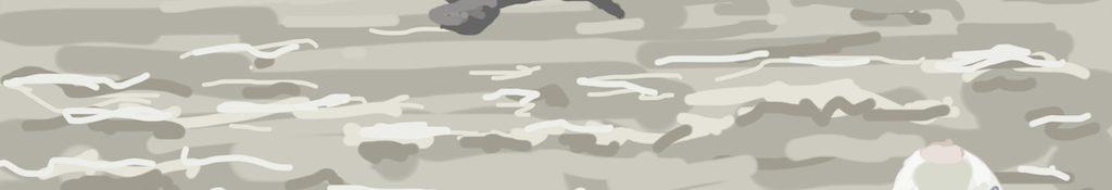 Danny Mooney 'Still stormy' Digital painting