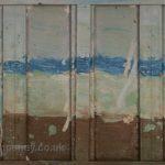 Danny Mooney 'Bottle Alley' Oil on canvas 40 x 120 cm - Version 2