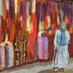 Danny Mooney 'In the Souk' 5/1/2014 digital painting