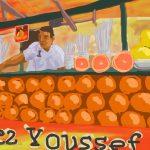 Danny Mooney 'Orange juice, Jemaa el Fna' 7/2/2014 Digital drawing