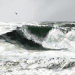 Danny Mooney 'Stormy seas' 15/2/2014 Digital painting