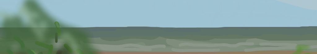 Danny Mooney 'Off to Bexhill, 7/6/2014' iPad painting