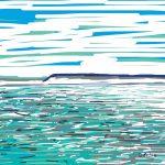 Danny Mooney 'Bright, 17/7/2014' iPad painting #APAD