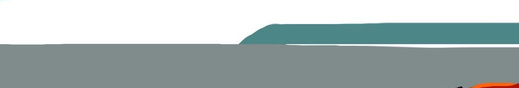 Danny Mooney 'Chips on the beach, 7/7/2014' iPad painting #APAD