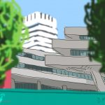 Danny Mooney 'Southbank, 23/7/2014' iPad drawing #APAD