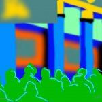Danny Mooney 'The Hawth, 5/7/2014' iPad painting #APAD
