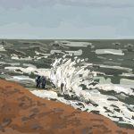 Danny Mooney 'Risky, 8/11/2014' iPad painting #APAD