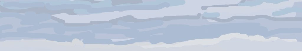 Danny Mooney 'Boat and rocks, 1/2/2015' iPad painting #APAD
