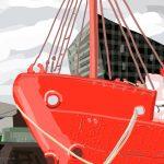 Danny Mooney 'Albert Dock, Liverpool, 25/8/2015' iPad painting #APAD