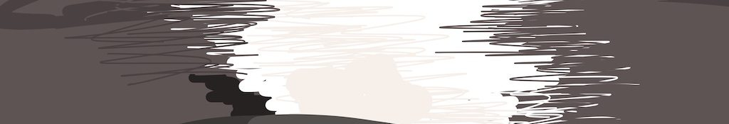 Danny Mooney 'Amazingly bright sun, 14/10/2015' iPad painting #APAD