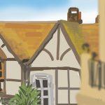 Danny Mooney 'All Saint's Street, 1/11/2015' iPad painting #APAD