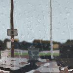 Danny Mooney 'Wet wet wet, 22/1/2016' iPad painting #APAD