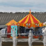 Danny Mooney 'Hastings Pier fairground, 25/4/16' iPad painting #APAD
