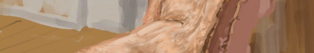Danny Mooney 'Julienne 1, 1/5/16' iPad painting #APAD